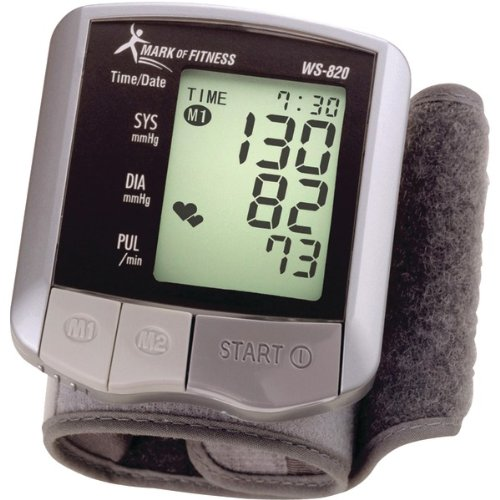 Cheap Mark of Fitness Wrist Blood Pressure Monitor (NTHWS820)