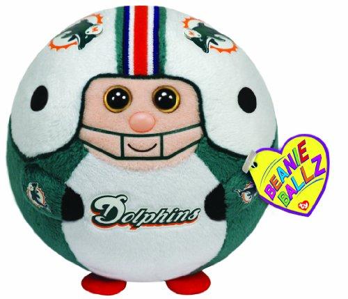 Ty Beanie Ballz Miami Dolphins - NFL Ballz - 1