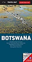 Botswana Travel Map (Globetrotter Travel Map)