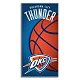 NBA Oklahoma City Thunder Emblem Beach Towel, 28 x 58-Inch Amazon.com