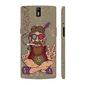 Enthopia Designer Hardshell Case Ganja Babe Back Cover for One Plus One