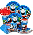 Thomas the Train Party Supply Standard Kit (Serves 8)