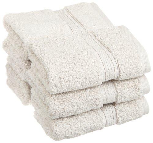 Superior 900 Gram Egyptian Cotton 6-Piece Face Towel Set, Stone front-985004