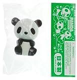 """Negro Panda ~ 1 """"Mini-Borrador: Collectible Panda Borrador Series (Japanese Import)"""