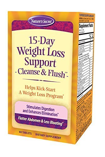 Natures Secret  Day Weight Loss Cleanse Flush Reviews