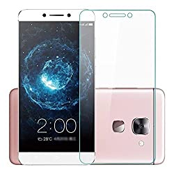 Kalgidhar eCom Tempered Glass for for LeEco Le 2, Alcohol wet cloth pad & clean micro fibre, Dry cloth, Dust Absorber for LeEco Le 2