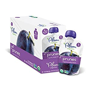 Plum Organics Baby Just Fruit and Veggies, Pack of 12 Pouches by [Producer]