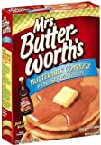 Mrs Butterworth's Buttermilk Complete Pancake & Waffle Mix, 32oz Boxes (Pack of 3)