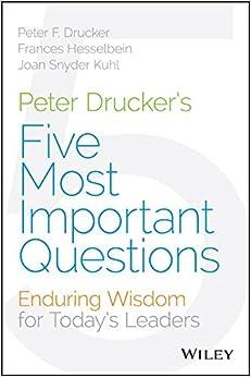 peter drucker 5 questions pdf