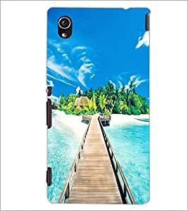 PrintDhaba Beautiful Scene D-1267 Back Case Cover for SONY XPERIA M4 AQUA (Multi-Coloured)
