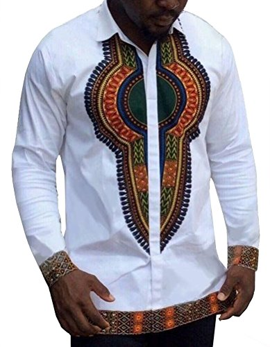 Delllyop-Mens-Long-Sleeve-African-Printed-Button-Down-Shirt-Tops