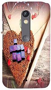 PrintVisa 3D-MOTOXPLAY-D7856 Back Case For Moto X