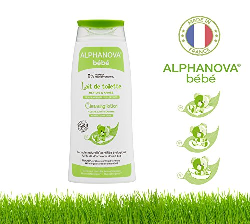 Alphanova Bebe-Baby Cleansing Lotion BIO 200ml - 1