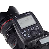 Yongnuo YN-E3-RT Flash Speedlite Transmitter Compatible with 600EX-RT for Canon DSLR Cameras EOS-1D series ST-E3-RT / 600EX-RT, Full GR Group,AF Focus, Two-way 2.4G Radio, 15 Channels, 100M Transmission Range