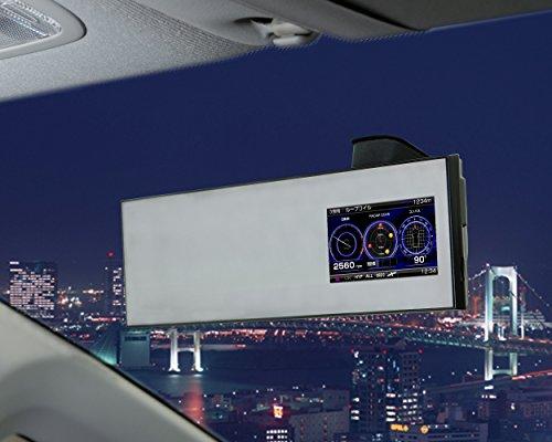 コムテック 高感度GPS搭載 ミラータイプレーダー探知機 ZERO502M