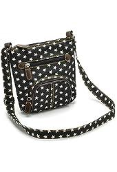 Zeagoo® Women Blue Denim Shoulder Bag Jean Purse Vintage Crossbody Handbag