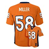 Von Miller Denver Broncos Orange NFL Youth 2013