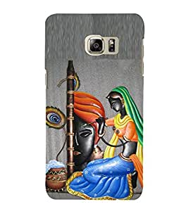 Lord Krishna and Mira 3D Hard Polycarbonate Designer Back Case Cover for Samsung Galaxy Note5 :: Samsung Galaxy Note5 N920G :: Samsung Galaxy Note5 N920T N920A N920I