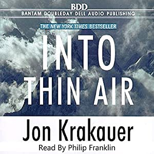Into Thin Air Audiobook
