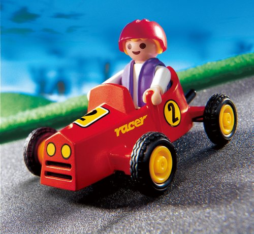 Playmobil Soap Box Car with Child