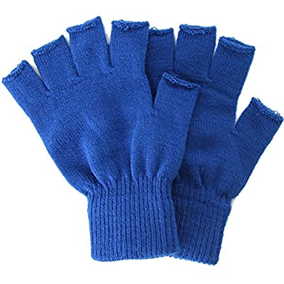 Simplicity Winter Fingerless Gloves With or Without Mitten Flap Cover
