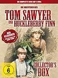 DVD Cover 'Tom Sawyer & Huckleberry Finn (Collectors Box, 6 DVDs)