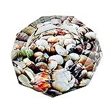 【Woliwowa】 美しい 敷き詰められた 小石 デザイン ガラス製 灰皿 [並行輸入品]