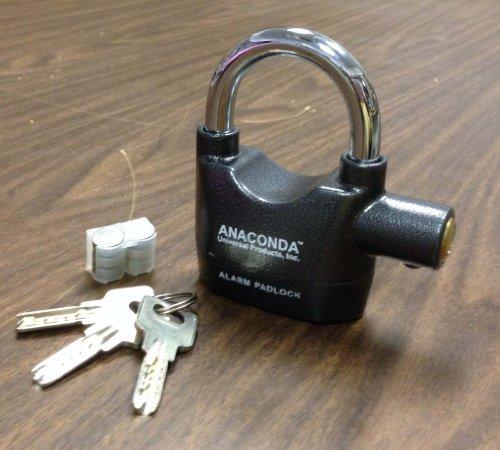 Anaconda Siren Alarm Lock Anti Theft Security System Door
