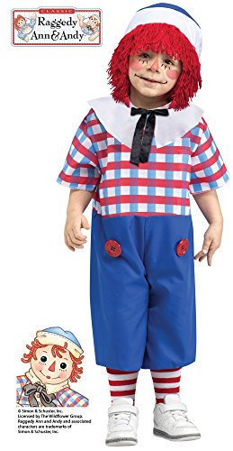 Little Boys' Raggedy Andy Costume