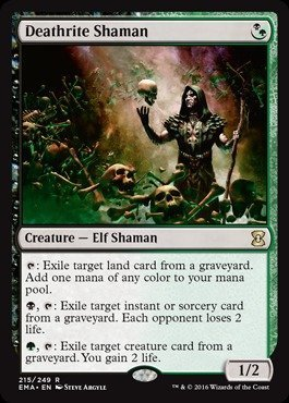 Magic: the Gathering - Deathrite Shaman (215/249) - Eternal Masters by Magic: the Gathering