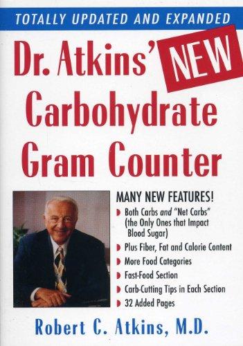 Dr. Atkins' New Carbohydrate Gram Counter, Atkins, M.D., Robert C.