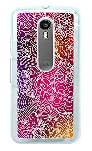 Moto G3 Cover , Moto G Turbo Cover , Premium Quality Designer Printed 2D Transparent Lightweight Slim Matte Finish Hard Case Back Cover for Moto G 3rd Generation/Moto G Turbo by Tamah