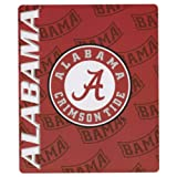 "College ""Name and Logo"" Fleece Throw Blankets"
