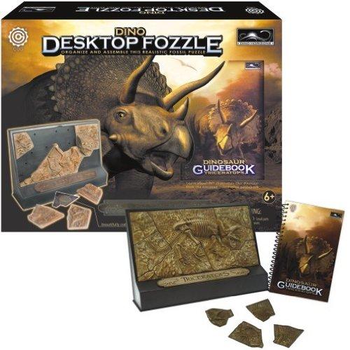 Triceratops Desktop Fozzle Puzzle