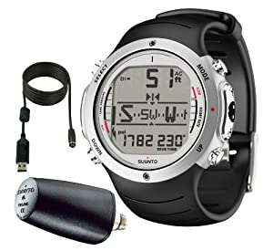 Buy Suunto D6i Dive Computer Computer with LED Transmitter & USB PC Download Kit, (Closeout) by Suunto