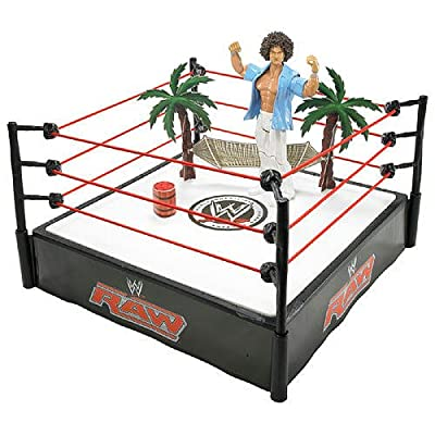 NEW in box... WWE Wrestling Ring Carlitos Cabana with Exclusive MVP ...