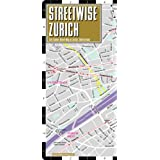 Streetwise Zurich Map - Laminated City Center Street Map of Zurich, Switzerland - Folding pocket size travel map...