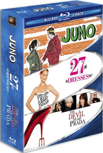 Chick Flick Blu-ray 3-Pack (Juno / 27 Dresses / The Devil Wears Prada)