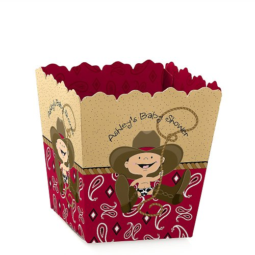 Baby Shower Candy Boxes - Little Cowboy front-707477