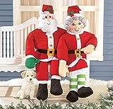 Stuffable Christmas Greeter Decorations Santa