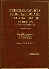 Federal Courts A Contemporary Approach by Donald Doernberg