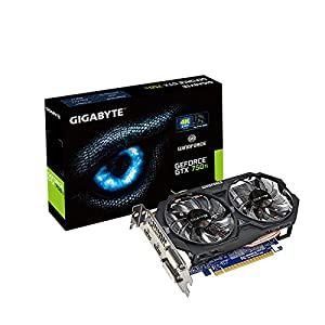 Gigabyte NVIDIA GTX 750Ti 2GB PCI-E Graphics Card