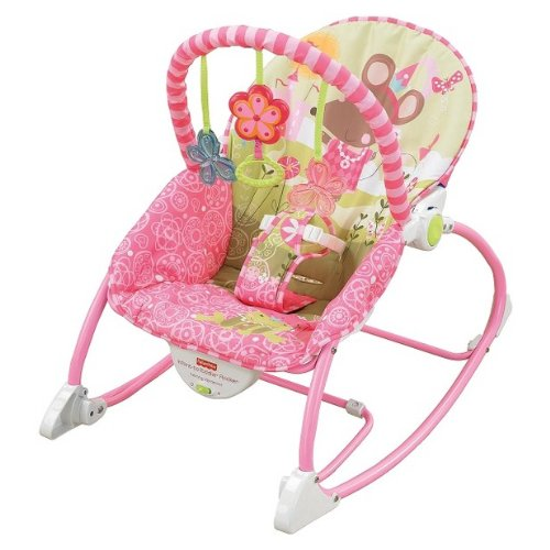 Fisher Price Infant to Toddler Rocker, Pink: Baby
