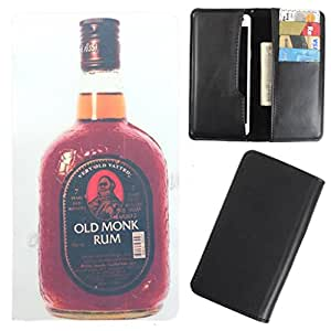 DooDa - For Micromax Bolt A40 PU Leather Designer Fashionable Fancy Case Cover Pouch With Card & Cash Slots & Smooth Inner Velvet