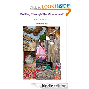 'Walking  Through The Wonderland' and Selected Articles' ebook on Amazon's Kindle from MoeMaKa Media finally published