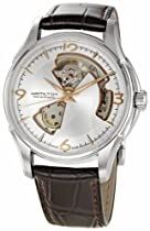 Hamilton Mens Jazzmaster Open Heart Watch H32565555