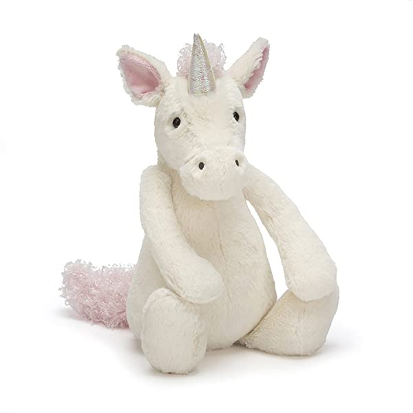 Jellycat Bashful Unicorn Stuffed Animal, Huge, 21 inches (Tamaño: Huge - 21)