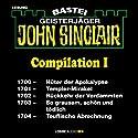 John Sinclair Compilation I: Band 1700 - 1704 Hörbuch von Jason Dark Gesprochen von: Carsten Wilhelm