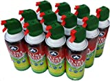 Ultra Duster Canned Air Duster Net 10 oz 12 Pack