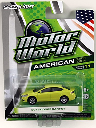 Greenlight Motor World Series 11 - 2013 Dodge Dart GT